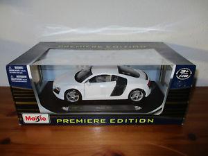 【送料無料】模型車 モデルカー スポーツカー アウディ go 118 maisto audi r8 neu ovp