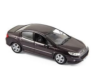 【送料無料】模型車 モデルカー スポーツカー バイオレットプジョーnorev 474706 peugeot 407 violet 2006 143