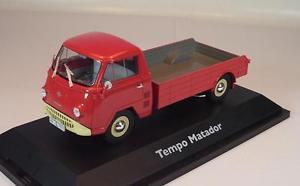 【送料無料】模型車 モデルカー スポーツカー テンポプラットフォーム#schuco 143 tempo matador pritsche rot ovp 927