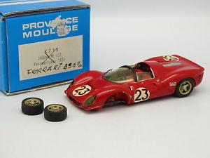 【送料無料】模型車 モデルカー スポーツカー エクスアンプロヴァンスムラージュキットモンフェラーリデイトナprovence moulage kit mont rsine 143 ferrari p4 winner daytona 1967