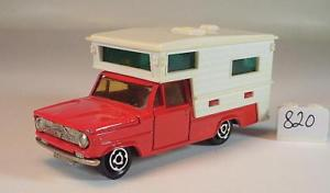【送料無料】模型車 モデルカー スポーツカー ダッジキャンピングカーキャンピングカーレッド#majorette 180 dodge camper wohnmobil rot nr 2 820