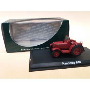 【送料無料】模型車 モデルカー スポーツカー ミニチュアモデルトターschuco miniaturmodelle 143  hanomag r40 tractor artnr02782