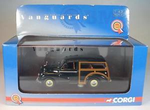 【送料無料】模型車 モデルカー スポーツカー コーギーネットワークモーリスマイナーダークグリーン#corgi vanguards 143 nr va 01010 morris minor traveller dunkelgrn ovp 2889