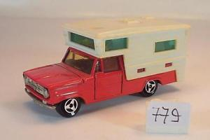 【送料無料】模型車 モデルカー スポーツカー ダッジキャンピングカーキャンピングカーレッド#majorette 180 dodge camper wohnmobil rot nr 1 779