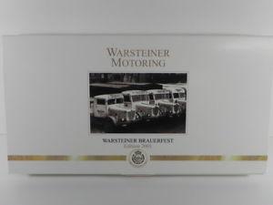 【送料無料】模型車 モデルカー スポーツカー wiking 3688 warsteiner motoring set edition 2001 187 w658