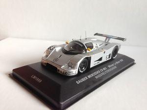【送料無料】模型車 モデルカー スポーツカー ルマンザウバーメルセデスネットワークモデルle mans winner sauber mercedes c9 ixo model 1989