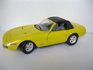 【送料無料】模型車 モデルカー スポーツカー テクノフェラーリデイトナイエローptechno giodi ferrari 365 gts4 daytona cabrio 1969 gelb 118 ohne vp