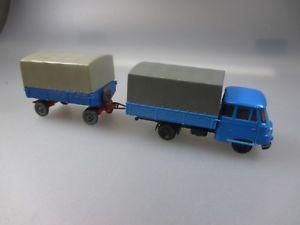 【送料無料】模型車 モデルカー スポーツカー モデルラックトラックトレーラーespewe, ddr modellrobur 2500 pritschen lkw m anhnger schub51