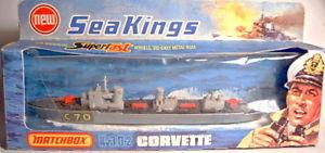 【送料無料】模型車 モデルカー スポーツカー マッチキングコルベットボックスmatchbox sea king k302 corvette neuwertig in box