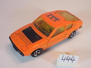 【送料無料】模型車 モデルカー スポーツカー majorette 155 nr 219 matra simca bagheera coupe orange itt werbemodell 2 444