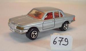 【送料無料】模型車 モデルカー スポーツカー #メルセデスベンツシルバースター#メタリックmajorette 160 nr 249 mercedes benz 450 se silbermetallic mit stern nr2 679