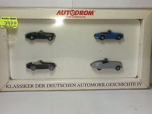 【送料無料】模型車 モデルカー スポーツカー バイキングドイツセントwiking 187 990714 klassiker der deutschen automobilgeschichte ovp st2474