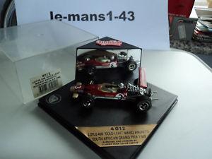 【送料無料】模型車 モデルカー スポーツカー ロータス#アンドレッティアフリカグランプリゴールドリーフquartzo 143 lotus 49b 3 m andretti south africa gp 1969 gold leaf 4012