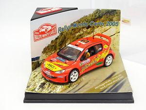 【送料無料】模型車 モデルカー スポーツカー プジョーモンテカルロラリーポンスvitesse 143 peugeot 206 wrc rallye monte carlo 2005 pons