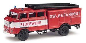 【送料無料】模型車 モデルカー スポーツカー モデルbusch 95170 espewe ifa w50 lf16, gw gefahrgut, modell 187 h0