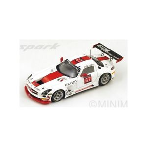 【送料無料】模型車 モデルカー スポーツカー スパークメルセデスグアテマラスパspark sb083 mercedes sls amg gt3 gdl n67 24h spa 2014 143 nb
