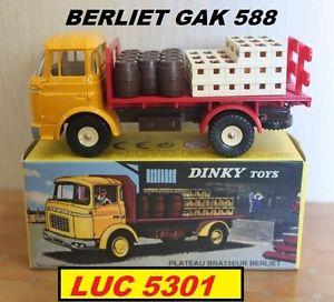 【送料無料】模型車 モデルカー スポーツカー #パーアトラスberliet gak brasseur jaune 588 au 143 par dinky atlas