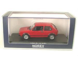 【送料無料】模型車 モデルカー スポーツカー ゴルフvw golf gti red 1976