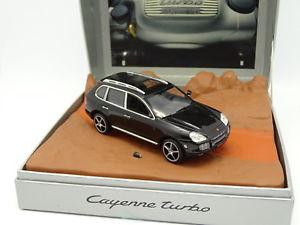 【送料無料】模型車 モデルカー スポーツカー ポルシェカイエンターボnorev 143 porsche cayenne turbo exclusive noire