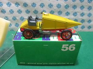 【送料無料】模型車 モデルカー スポーツカー ビンテージグランプリリオvintage  general gran prix inglese buchet 40 cv 1902   143 rio n 56