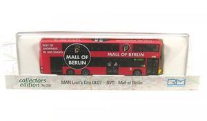 【送料無料】模型車 モデルカー スポーツカー ライオンベルリンモールコレクターズエディションman lions city dl 07 bvg mall of berlin collectors edition 59