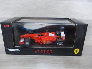 【送料無料】模型車 モデルカー スポーツカー ホットホイールエリートフェラーリ#hot wheels elite 143 ferrari f1 2000  3