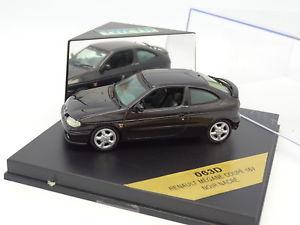 【送料無料】模型車 モデルカー スポーツカー ルノーメガーヌクーペvitesse 143 renault megane coup 16v noire