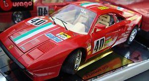 【送料無料】模型車 モデルカー スポーツカー フェラーリロッソダイカストferrari gto rot rosso 1984, bburago cod 3027, 1 18 diecast, neu amp; ovp