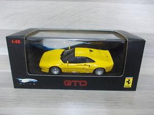 【送料無料】模型車 モデルカー スポーツカー ホットホイールエリートイエローフェラーリhot wheels elite 143 ferrari gto yellow 1984