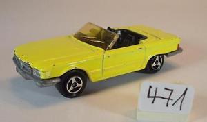 【送料無料】模型車 モデルカー スポーツカー メルセデスベンツ#majorette 160 nr 213 mercedes benz 350 sl cabrio gelb nr1 471