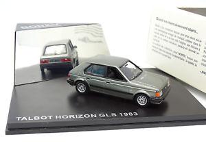 【送料無料】模型車 モデルカー スポーツカー タルボットホライゾンシュルnorev 143 talbot horizon gls 1983 grise