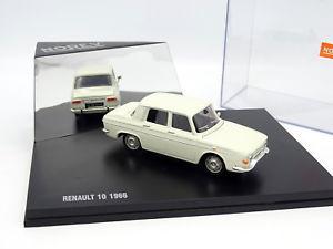 【送料無料】模型車 モデルカー スポーツカー ルノーnorev 143 renault 10 1966 blanche
