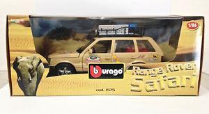 【送料無料】模型車 モデルカー スポーツカー レンジローバーサファリburago 1575 range rover safari 126