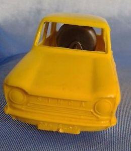 【送料無料】模型車 モデルカー スポーツカー ゴマフランスジュラsesame simca 1000 jaune moteur friction plastique france jura 143