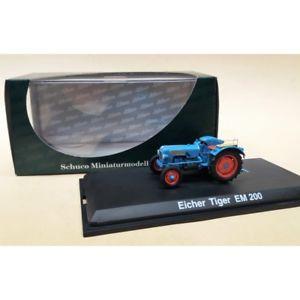 【送料無料】模型車 モデルカー スポーツカー ミニチュアモデルタイガートターschuco miniaturmodelle 143  eicher tiger em 200 tractor artnr02735