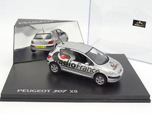 【送料無料】模型車 モデルカー スポーツカー プジョーラジオフランスnorev 143 peugeot 307 xs radio france