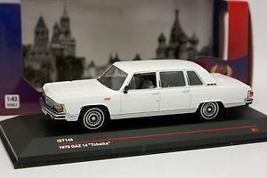 【送料無料】模型車 モデルカー スポーツカー ブランシュist 143 gaz 14 tchaka 1978 blanche