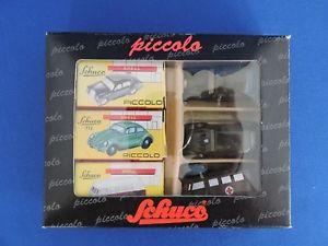 【送料無料】模型車 モデルカー スポーツカー ピッコロschuco piccologeschenkset bundeswehr art nr 05201