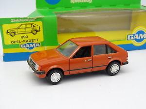 【送料無料】模型車 モデルカー スポーツカー ガマミニオペルオレンジgama mini 143 opel kadett d orange
