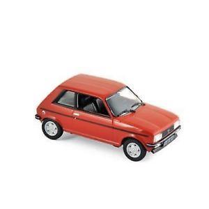 【送料無料】模型車 モデルカー スポーツカー プジョー143 peugeot 104 zs 1979 norev 471403