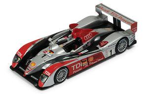 【送料無料】模型車 モデルカー スポーツカー アウディルマンネットワークモデルaudi r10 , winner 24h lemans 2007 , ixo models lm2007