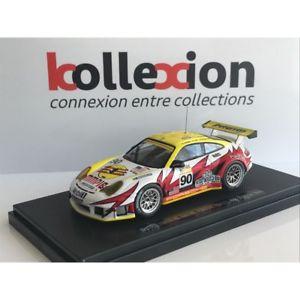 【送料無料】模型車 モデルカー スポーツカー ポルシェルマンporsche 911 gt3 rsr white lightning n90 le mans 2005