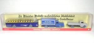 【送料無料】模型車 モデルカー スポーツカー バイキングセットモデルメルセデスフォードset wikingverkehrsmodelle 1 mercedes l 5000, ford 2500, bssing trambus