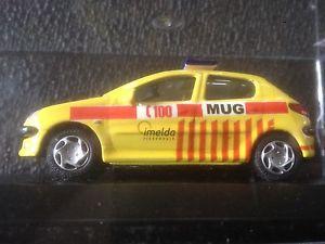 【送料無料】模型車 モデルカー スポーツカー プジョーマグスケールベルギーレスキューpeugeot mug imelda ziekenhuis modelcar scale 143 belgium rescue