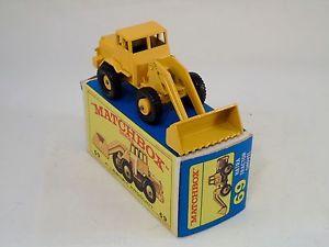【送料無料】模型車 モデルカー スポーツカー マッチ#トターショベルヌフmatchbox lesney 69 hatra tractor shovel neufbote mbb