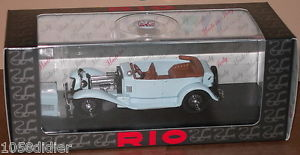 【送料無料】模型車 モデルカー スポーツカー リオミニチュアアルファロメオミッレミリアヌフrio 4202 voiture miniature alfa romeo 1750 t mille miglia 1930 143 neuf