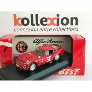 【送料無料】模型車 モデルカー スポーツカー ベストモデルアルファロメオモンツァビアンキbest model 9088 alfa romeo tz2 n30 monza 1967 bianchi lopfucs 143 nb