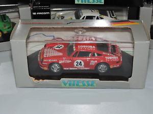 【送料無料】模型車 モデルカー スポーツカー ポルシェカレラカップ#vitesse porsche carrera cup toshiba 24 w land