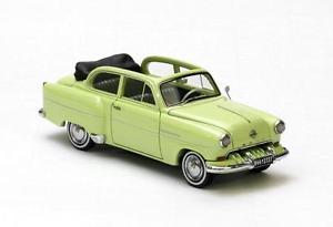 【送料無料】模型車 モデルカー スポーツカー ライトグリーンセダンオペルオリンピアネオスケールopel olympia limousine cabrio light green 1954 neo scale 143 43737
