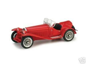 【送料無料】模型車 モデルカー スポーツカー アルファロメオロッソハムalfa romeo 2300 aperta rosso 1931 brumm 143 r07703